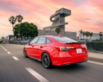 2022 Honda Civic Sedan Sport with HPD Package Rear Three-Quarter Wallpapers 150x120 (6)