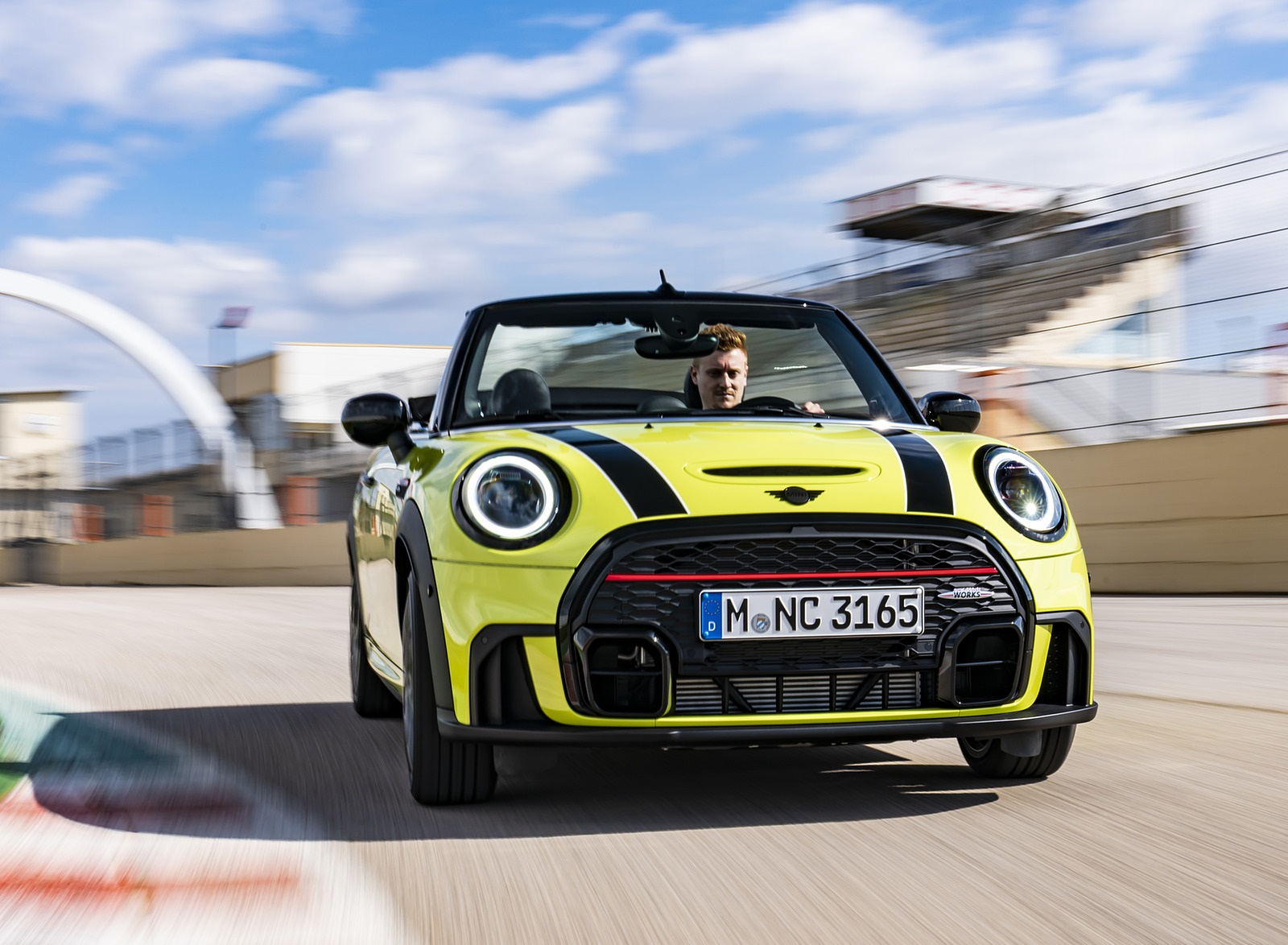 2022 MINI John Cooper Works Cabrio Front Wallpapers  (5)