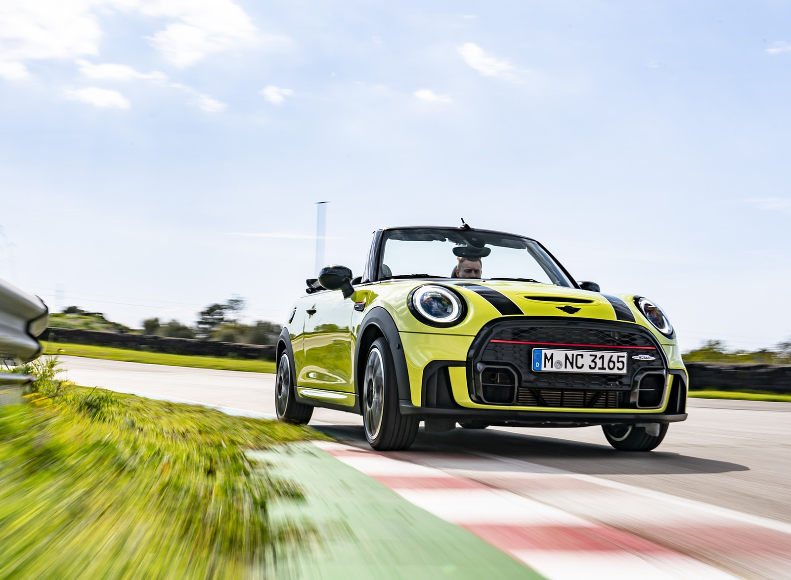2022 MINI John Cooper Works Cabrio Front Wallpapers (3)