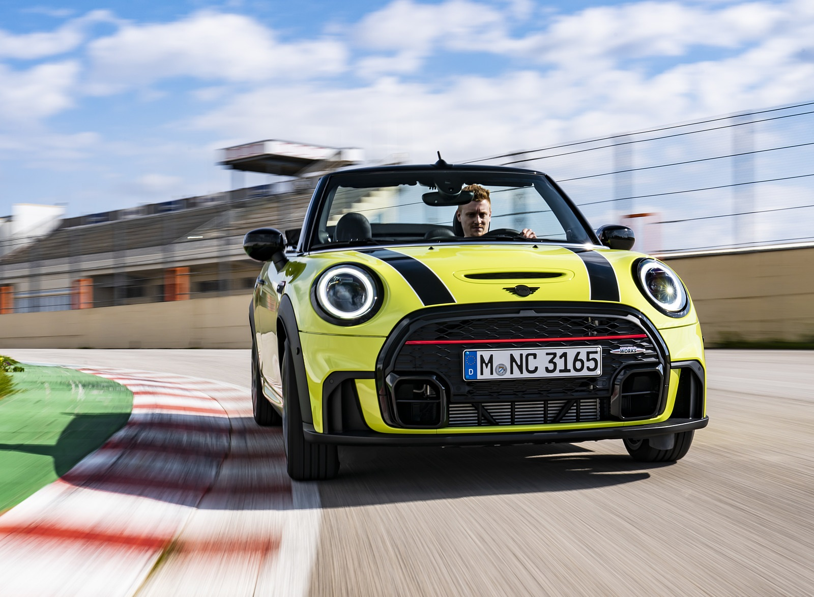 2022 MINI John Cooper Works Cabrio Front Wallpapers  (1)