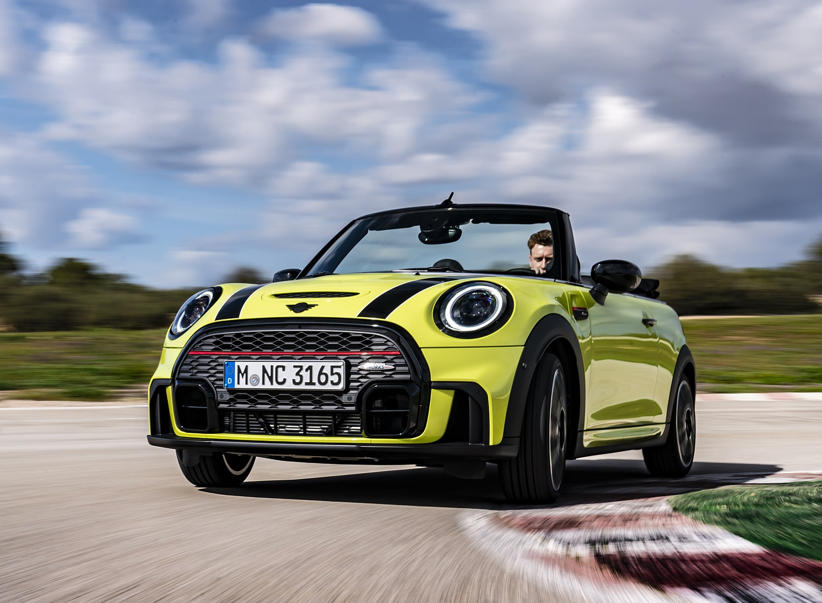 2022 MINI John Cooper Works Cabrio Front Wallpapers  (2)
