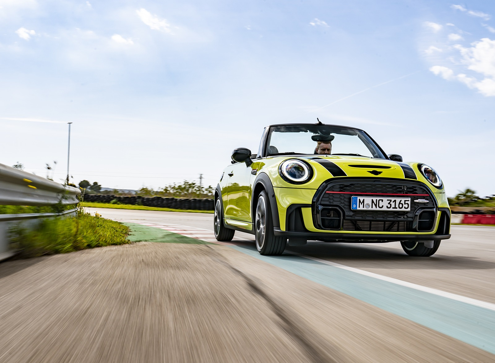 2022 MINI John Cooper Works Cabrio Front Wallpapers (6)