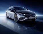 2022 Mercedes-Benz EQS 580 4MATIC AMG-Line Edition 1 (Color: High-Tech Silver Obsidian Black) Front Three-Quarter Wallpapers 150x120 (32)