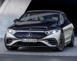 2022 Mercedes-Benz EQS 580 4MATIC AMG-Line Edition 1 (Color: High-Tech Silver Obsidian Black) Front Wallpapers 150x120 (20)