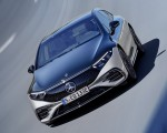 2022 Mercedes-Benz EQS 580 4MATIC AMG-Line Edition 1 (Color: High-Tech Silver Obsidian Black) Front Wallpapers 150x120 (3)