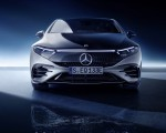 2022 Mercedes-Benz EQS 580 4MATIC AMG-Line Edition 1 (Color: High-Tech Silver Obsidian Black) Front Wallpapers 150x120 (33)