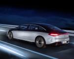 2022 Mercedes-Benz EQS 580 4MATIC AMG-Line Edition 1 (Color: High-Tech Silver Obsidian Black) Rear Three-Quarter Wallpapers 150x120 (16)