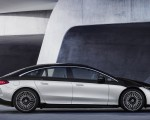 2022 Mercedes-Benz EQS 580 4MATIC AMG-Line Edition 1 (Color: High-Tech Silver Obsidian Black) Side Wallpapers 150x120 (23)