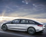 2022 Mercedes-Benz EQS 580 4MATIC AMG-Line Edition 1 (Color: High-Tech Silver Obsidian Black) Side Wallpapers 150x120 (7)