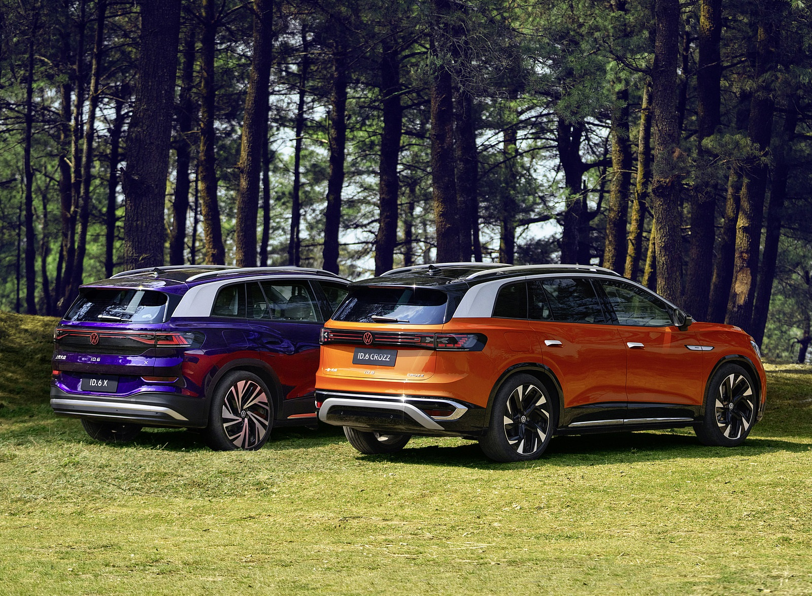 2022 Volkswagen ID.6 (Chinese-Spec) CROZZ and ID.6 X Wallpapers  (2)
