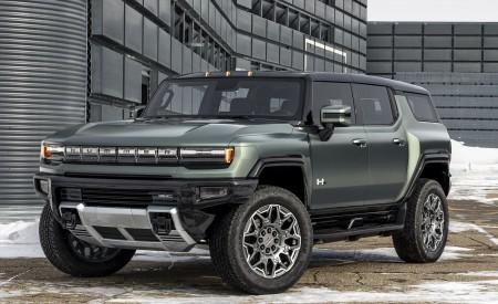 2024 GMC Hummer EV SUV Wallpapers HD