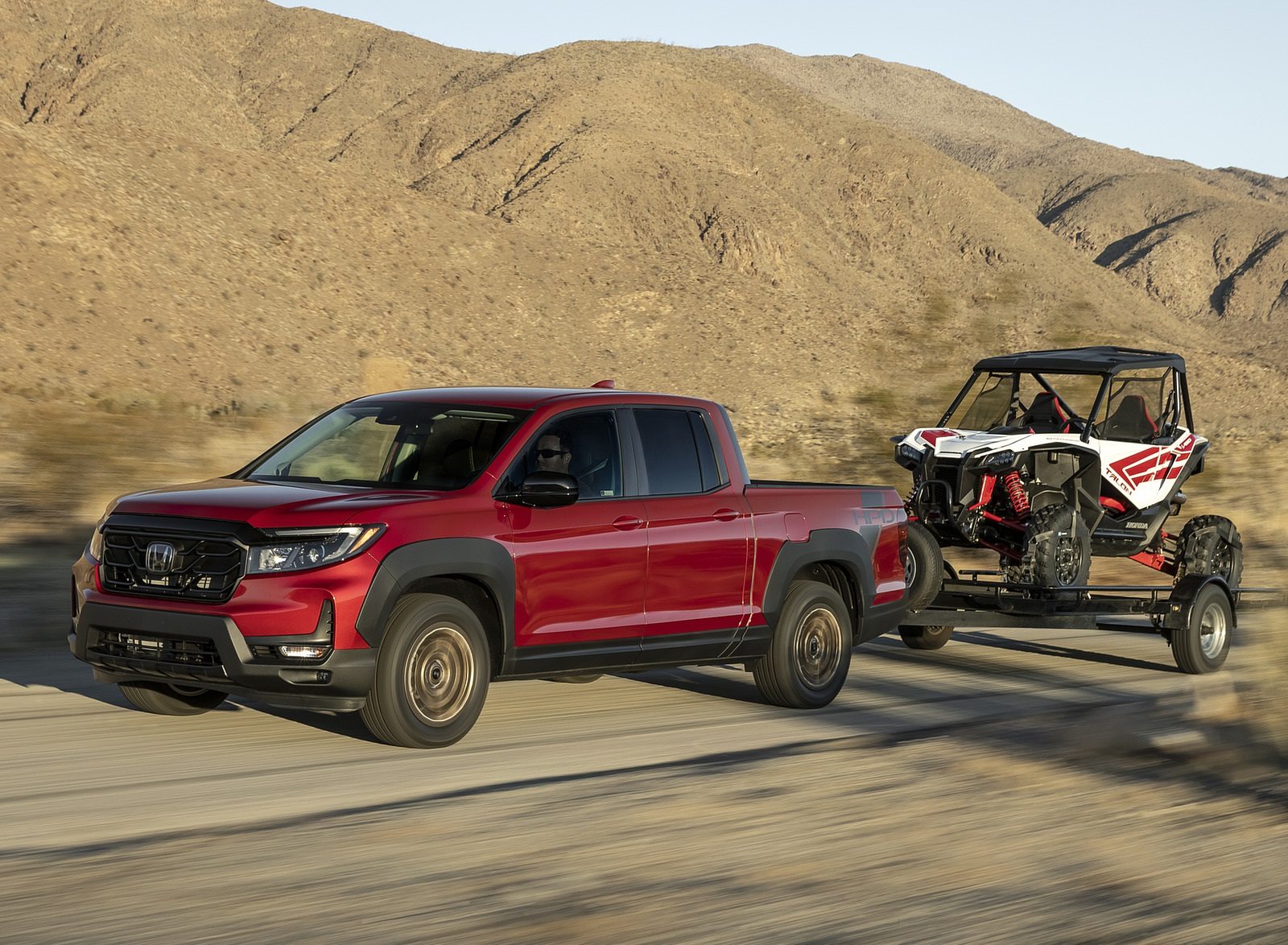 2021 Honda Ridgeline Sport with HPD Package Front Three-Quarter Wallpapers  (1)