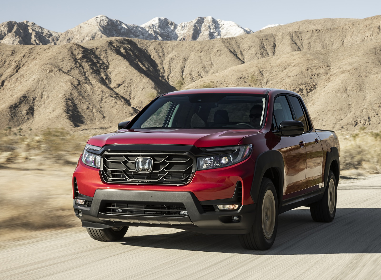 2021 Honda Ridgeline Sport with HPD Package Front Wallpapers (2)