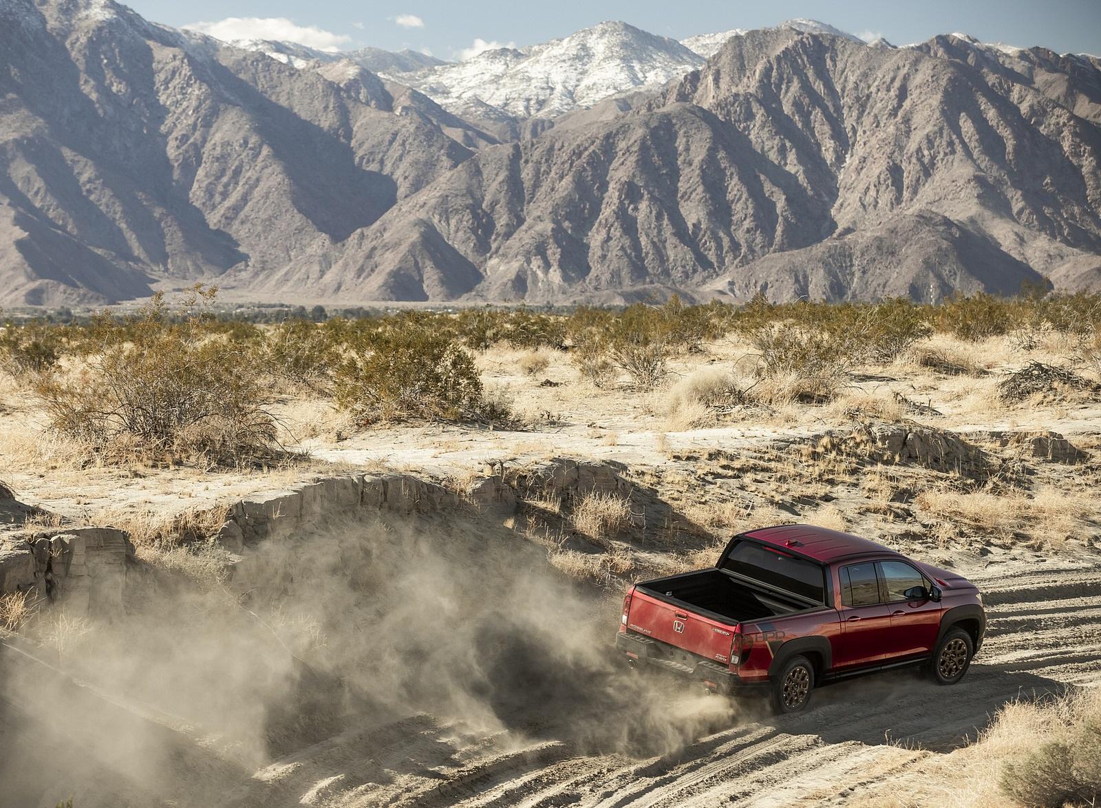 2021 Honda Ridgeline Sport with HPD Package Off-Road Wallpapers  (10)
