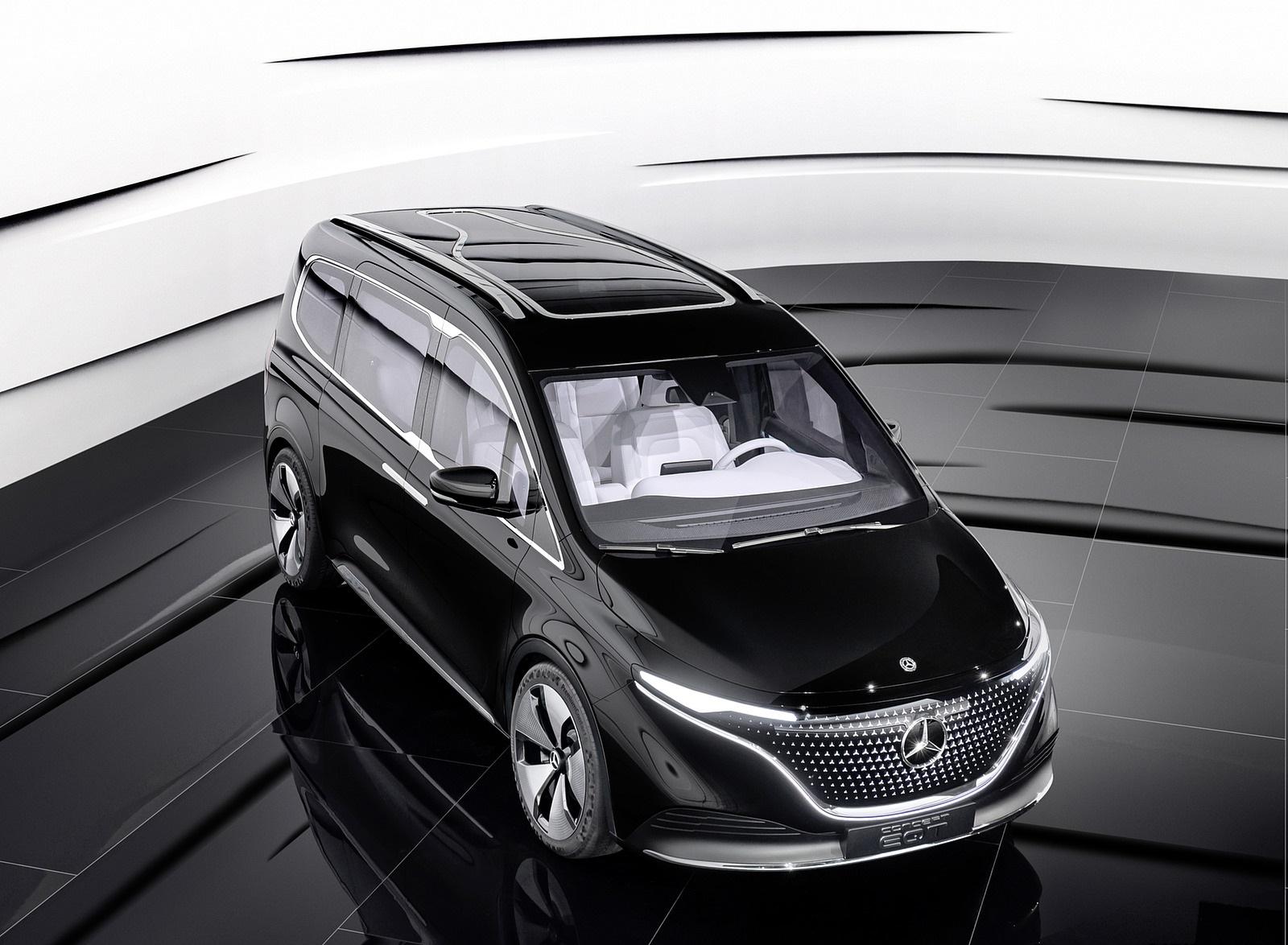 2021 Mercedes-Benz EQT Concept Front Three-Quarter Wallpapers  (10)