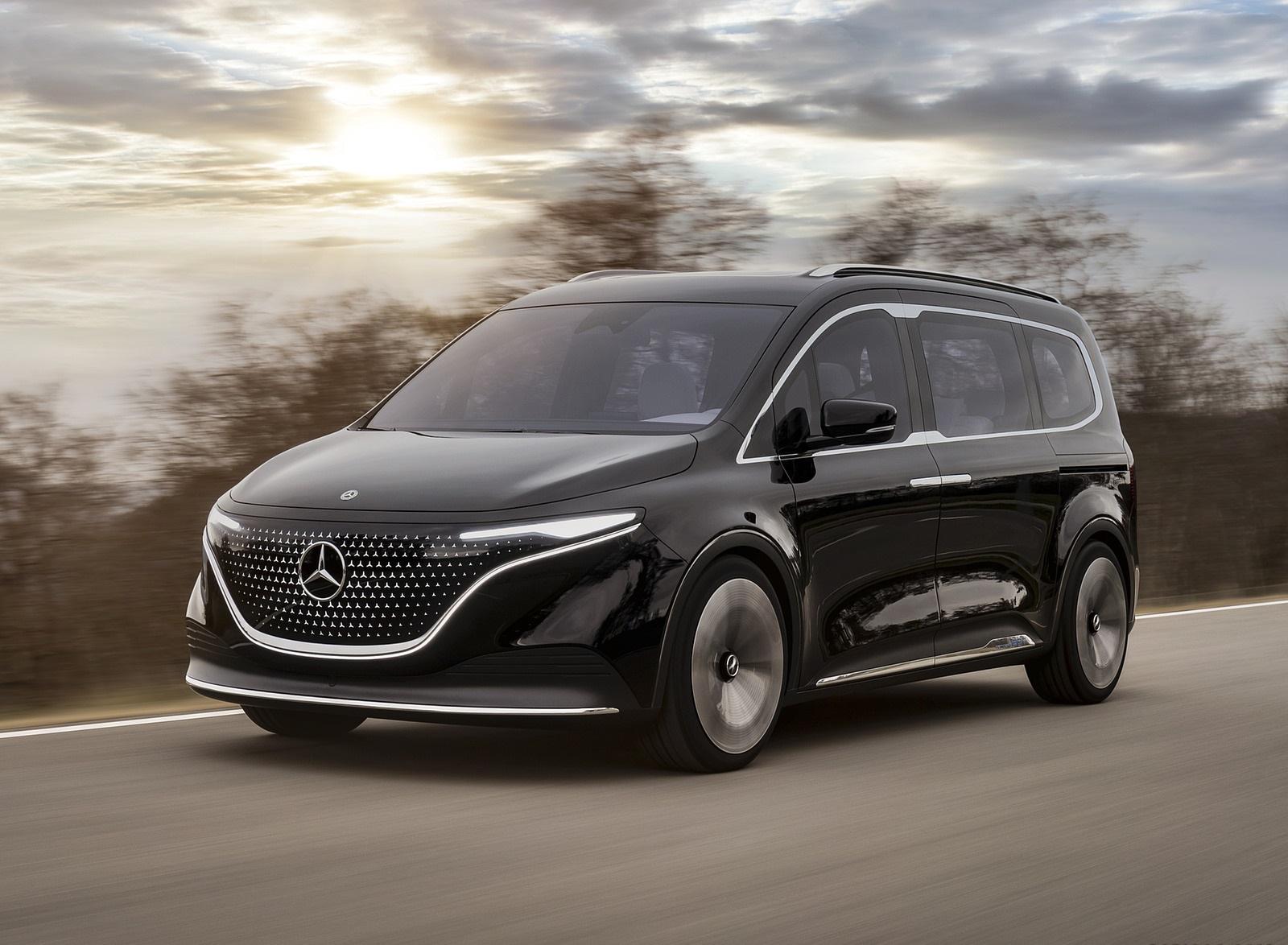 2021 Mercedes-Benz EQT Concept Front Three-Quarter Wallpapers (1)
