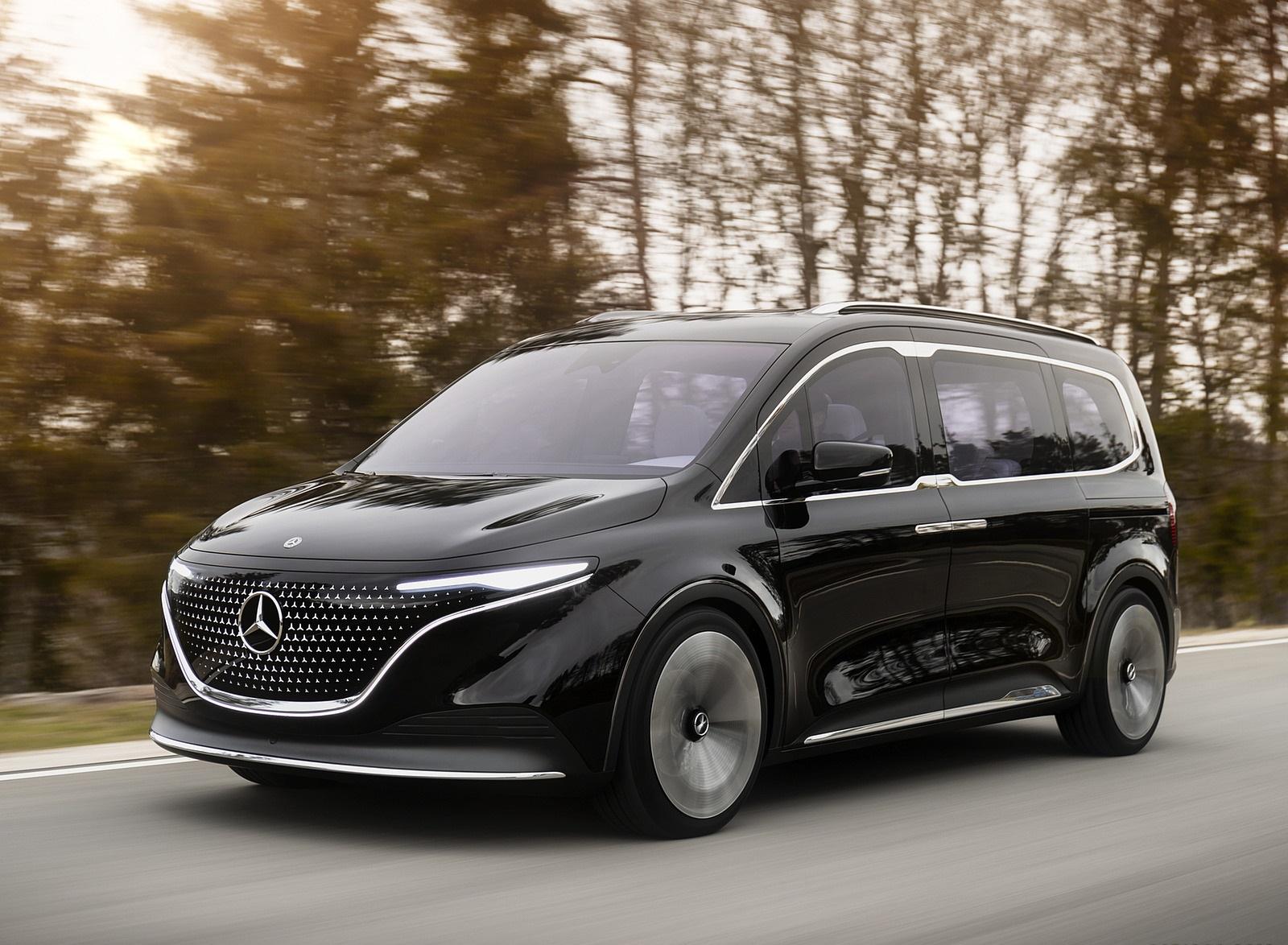 2021 Mercedes-Benz EQT Concept Front Three-Quarter Wallpapers (2)