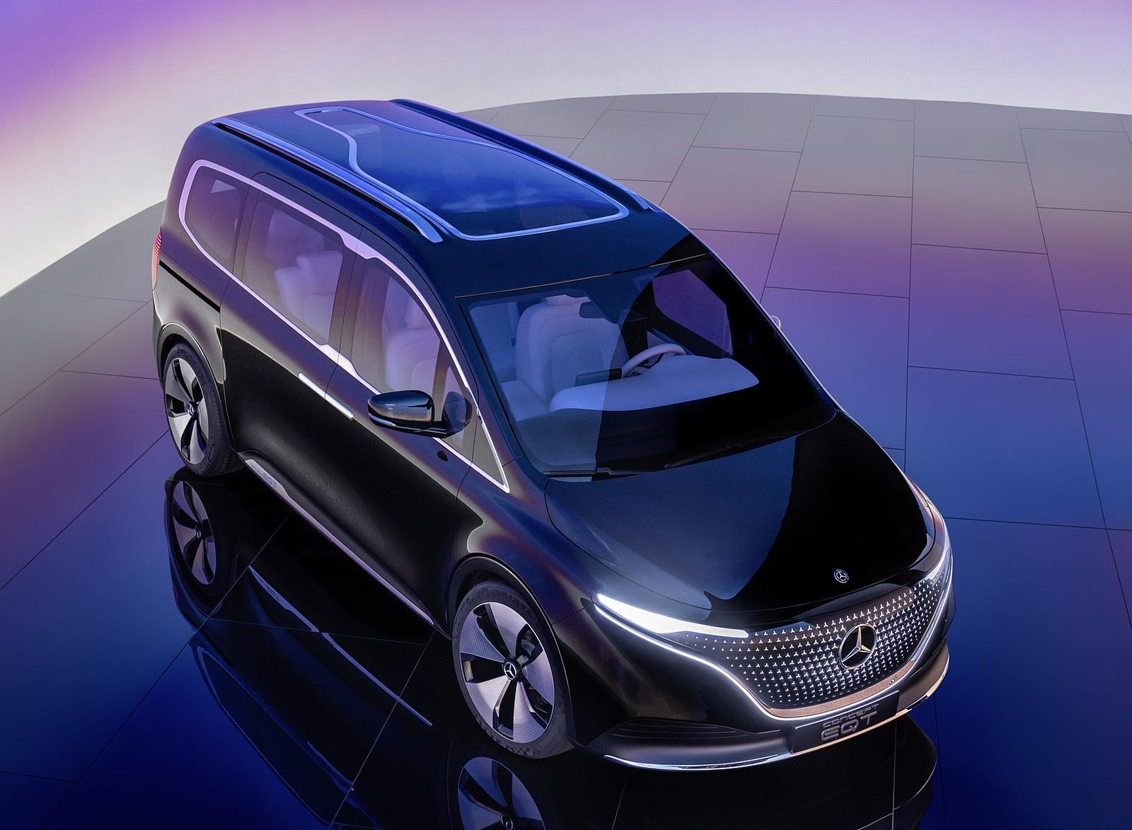 2021 Mercedes-Benz EQT Concept Front Three-Quarter Wallpapers (7)