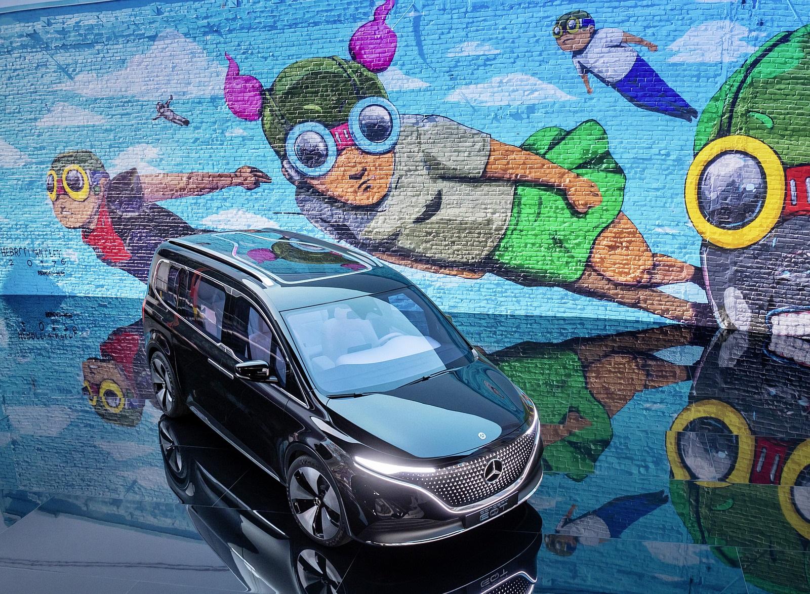 2021 Mercedes-Benz EQT Concept Front Three-Quarter Wallpapers (4)