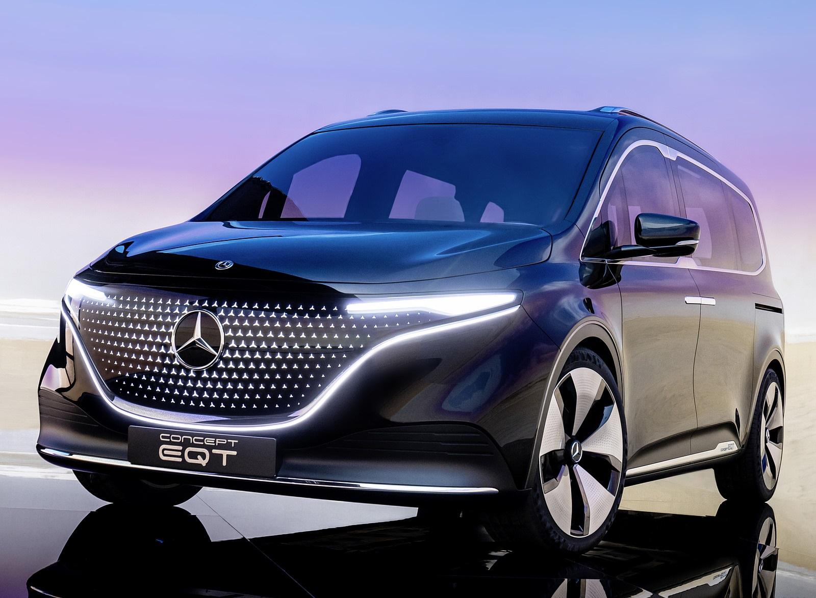 2021 Mercedes-Benz EQT Concept Front Wallpapers (8)