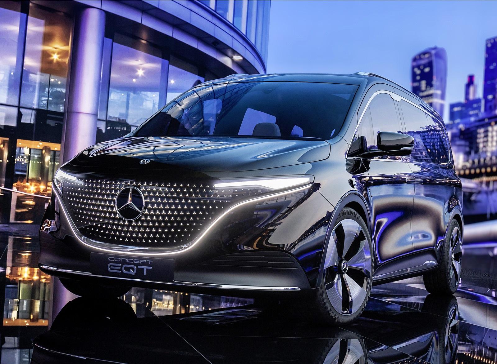2021 Mercedes-Benz EQT Concept Front Wallpapers (5)
