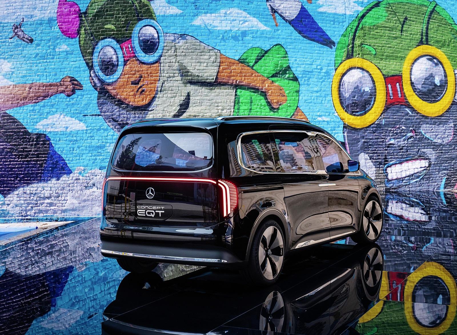 2021 Mercedes-Benz EQT Concept Rear Three-Quarter Wallpapers (6)