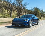 2022 Porsche Taycan Turbo Cross Turismo (Color: Gentian Blue) Front Three-Quarter Wallpapers 150x120 (2)
