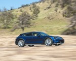 2022 Porsche Taycan Turbo Cross Turismo (Color: Gentian Blue) Front Three-Quarter Wallpapers 150x120 (34)