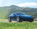 2022 Porsche Taycan Turbo Cross Turismo (Color: Gentian Blue) Front Three-Quarter Wallpapers 150x120 (50)