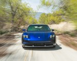 2022 Porsche Taycan Turbo Cross Turismo (Color: Gentian Blue) Front Wallpapers 150x120 (15)