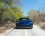 2022 Porsche Taycan Turbo Cross Turismo (Color: Gentian Blue) Front Wallpapers 150x120 (4)