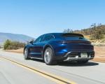 2022 Porsche Taycan Turbo Cross Turismo (Color: Gentian Blue) Rear Three-Quarter Wallpapers 150x120 (26)