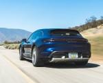 2022 Porsche Taycan Turbo Cross Turismo (Color: Gentian Blue) Rear Three-Quarter Wallpapers 150x120 (27)