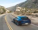 2022 Porsche Taycan Turbo Cross Turismo (Color: Gentian Blue) Rear Three-Quarter Wallpapers 150x120 (17)