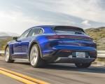 2022 Porsche Taycan Turbo Cross Turismo (Color: Gentian Blue) Rear Three-Quarter Wallpapers 150x120 (10)