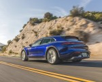 2022 Porsche Taycan Turbo Cross Turismo (Color: Gentian Blue) Rear Three-Quarter Wallpapers 150x120 (11)