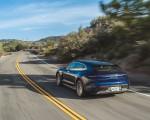 2022 Porsche Taycan Turbo Cross Turismo (Color: Gentian Blue) Rear Three-Quarter Wallpapers 150x120 (20)