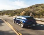 2022 Porsche Taycan Turbo Cross Turismo (Color: Gentian Blue) Rear Three-Quarter Wallpapers 150x120 (23)