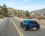 2022 Porsche Taycan Turbo Cross Turismo (Color: Gentian Blue) Rear Wallpapers 150x120 (24)