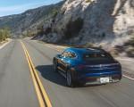 2022 Porsche Taycan Turbo Cross Turismo (Color: Gentian Blue) Rear Wallpapers 150x120 (25)