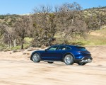 2022 Porsche Taycan Turbo Cross Turismo (Color: Gentian Blue) Side Wallpapers 150x120 (36)