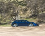 2022 Porsche Taycan Turbo Cross Turismo (Color: Gentian Blue) Side Wallpapers 150x120 (37)