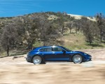 2022 Porsche Taycan Turbo Cross Turismo (Color: Gentian Blue) Side Wallpapers 150x120 (38)