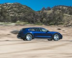 2022 Porsche Taycan Turbo Cross Turismo (Color: Gentian Blue) Side Wallpapers 150x120 (40)