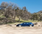 2022 Porsche Taycan Turbo Cross Turismo (Color: Gentian Blue) Side Wallpapers 150x120 (48)