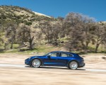 2022 Porsche Taycan Turbo Cross Turismo (Color: Gentian Blue) Side Wallpapers 150x120 (49)
