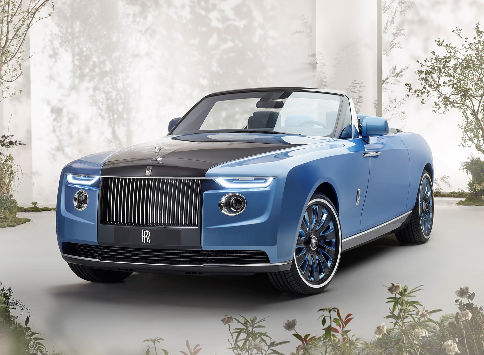 2021 Rolls-Royce Boat Tail Front Three-Quarter Wallpapers (1)