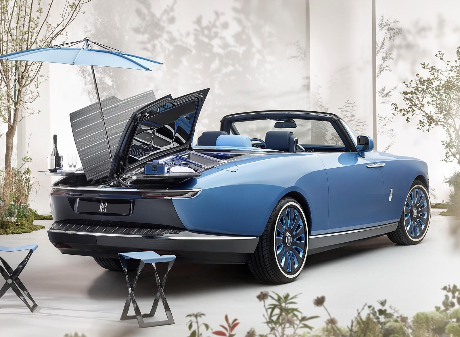 2021 Rolls-Royce Boat Tail Rear Three-Quarter Wallpapers (2)