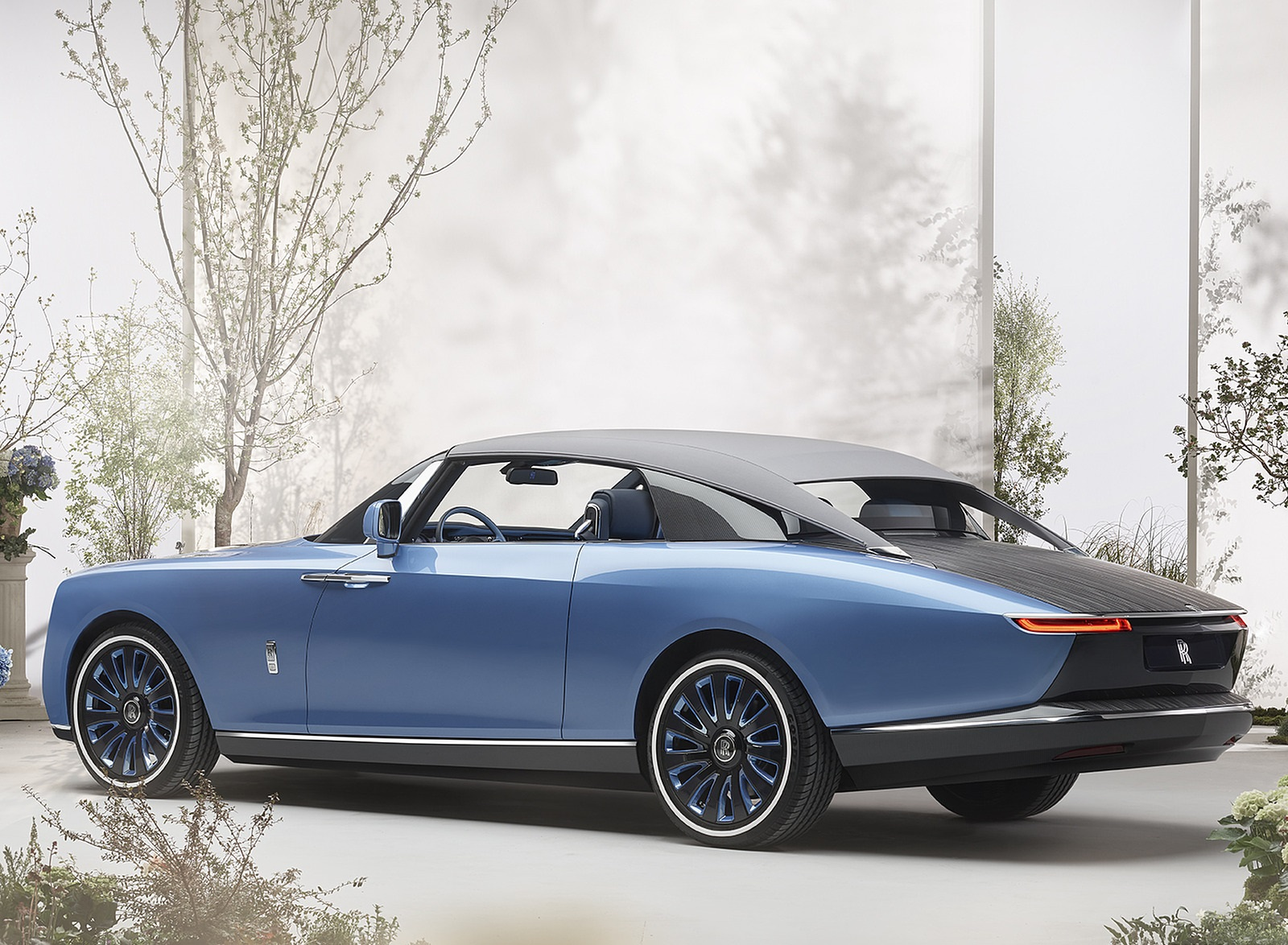 2021 Rolls-Royce Boat Tail Rear Three-Quarter Wallpapers (3)