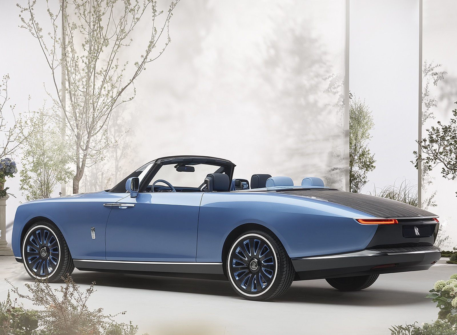 2021 Rolls-Royce Boat Tail Rear Three-Quarter Wallpapers (4)
